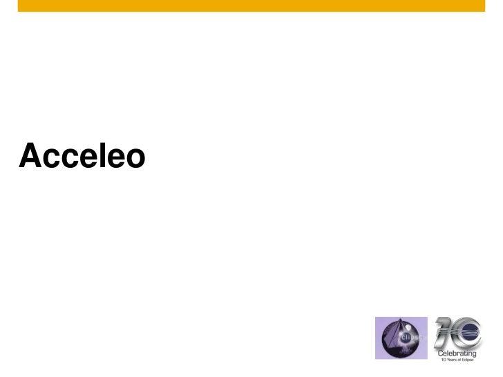 Acceleo