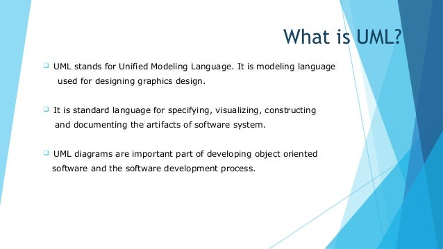unified modeling language an introductionoverview essay From the rational edge: this introduction to the unified modeling language, or uml, provides an overview of the most important diagrams used in the visual modeling of computing programs the article is ideal for those who have little knowledge of uml concepts, including managers as well as.