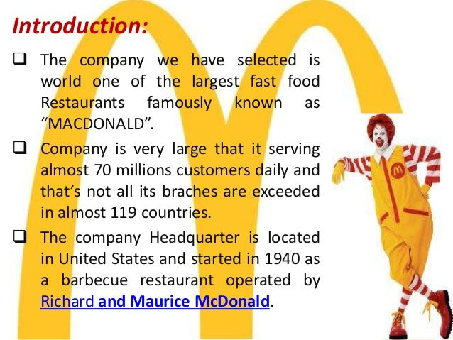 benchmarking for mcdonalds Mcdonald's uk has unveiled the results of new research carried out by the food animal initiative, part of the sustainable food chain business, benchmark holdings plc, quantifying the impact of hen smothering in the uk, as it launches a major new tv advertising campaign to shine a light on the care taken by the british and irish.