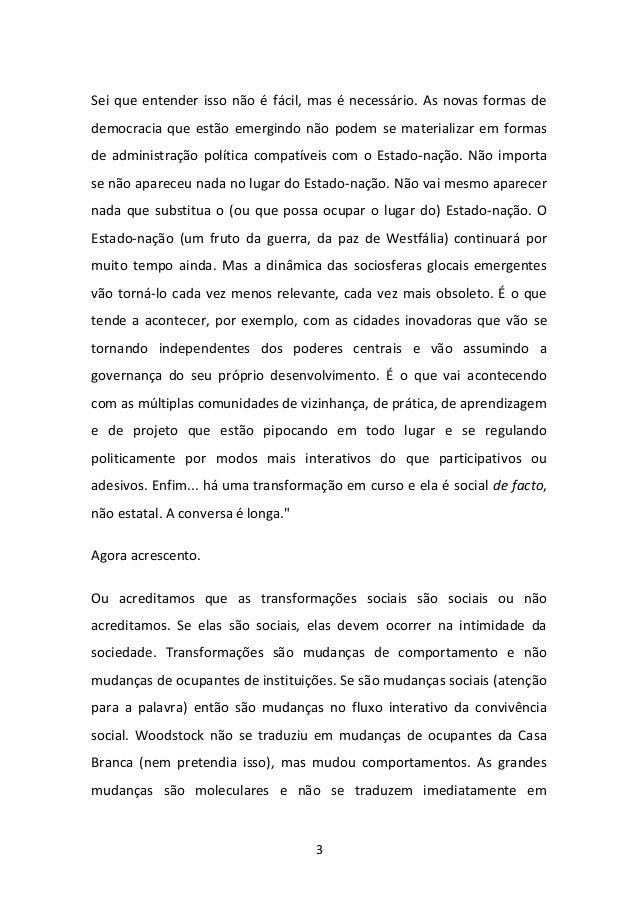 UM NOVO CONCEITO DE REVOLUÇÃO Slide 3