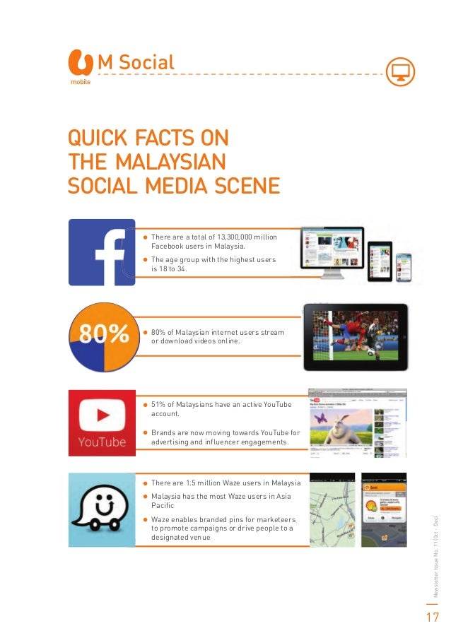 There are a total of 13,300,000 million Facebook users in Malaysia. The age group with the highest users is 18 to 34. 80% ...