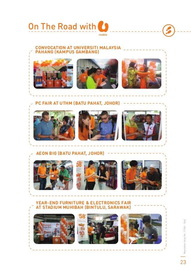 CONVOCATION AT UNIVERSITI MALAYSIA PAHANG (KAMPUS GAMBANG) YEAR-END FURNITURE & ELECTRONICS FAIR AT STADIUM MUHIBAH (BINTU...