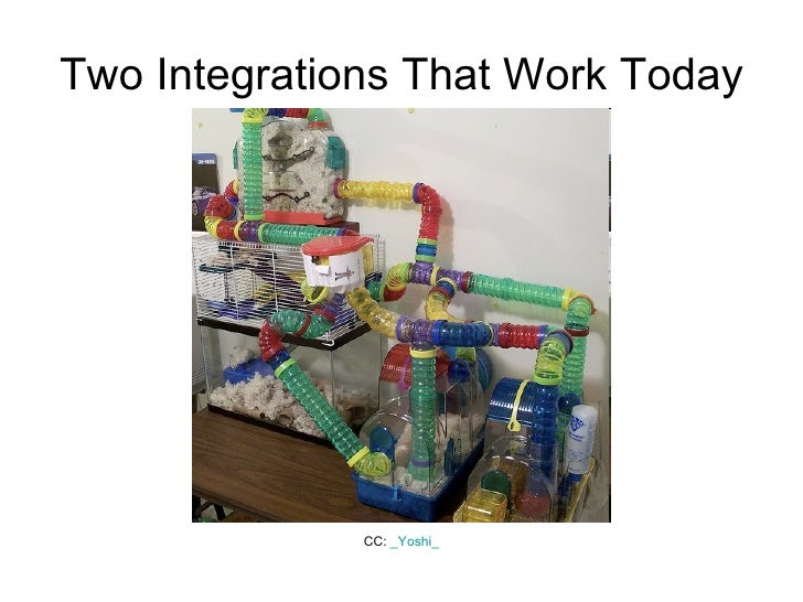 Two Integrations That Work Today CC:  _ Yoshi _