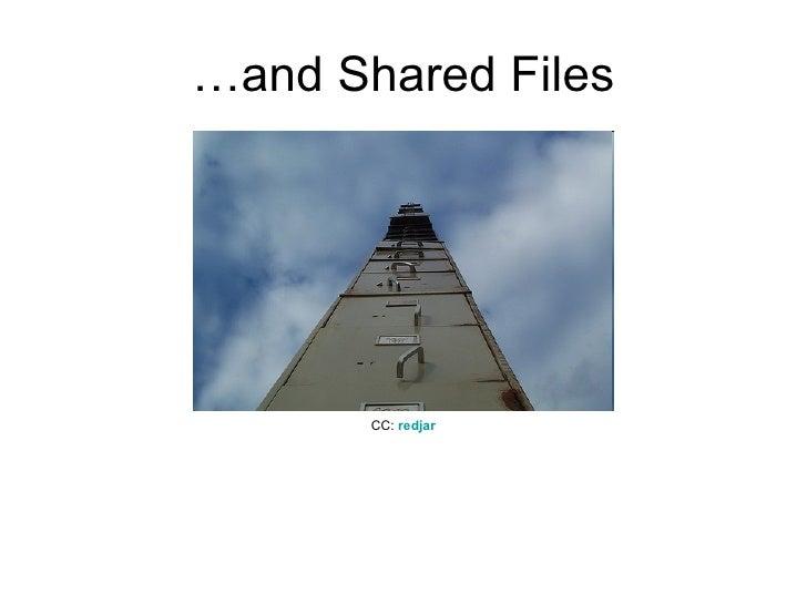 …and Shared Files CC:  redjar