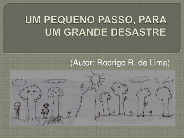 (Autor: Rodrigo R. de Lima)