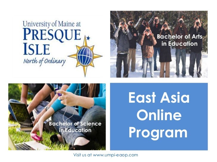 Bachelor of Arts                                         in Education                                East AsiaBachelor of ...