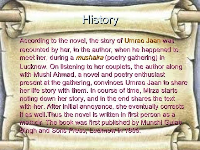 Umrao jaan ada novel in urdu