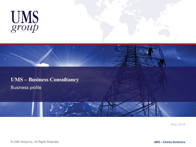 Technology Management Image: UMS Group Business Consulting