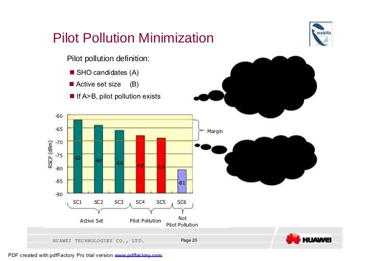 Pilot Pollution Minimization  Pilot pollution definition:  Pilot pollution will result in:     SHO candidates (A)  (1) lo...