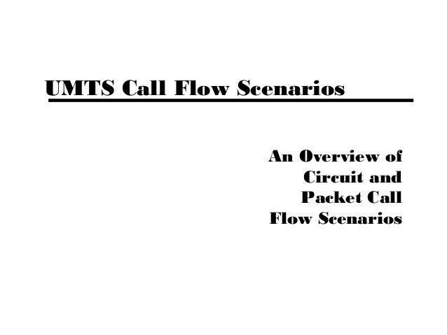 UMTS Call Flow Scenarios An Overview of Circuit and Packet Call Flow Scenarios