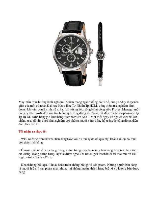 ở đâu mua đồng hồ casio dây da Slide 2