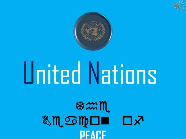 United Nations The Beacon of