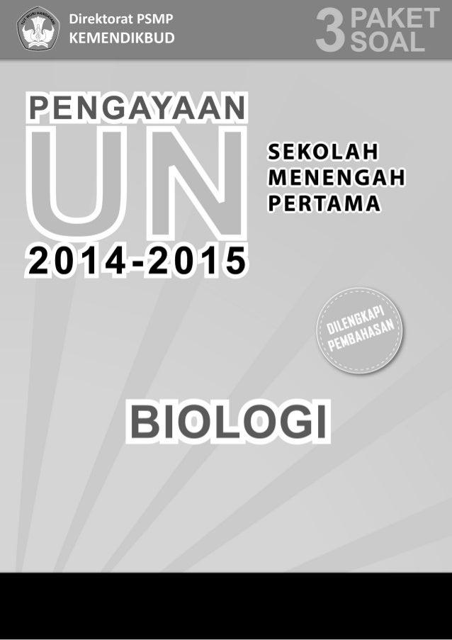 Soal Pengayaan Un Biologi 2015