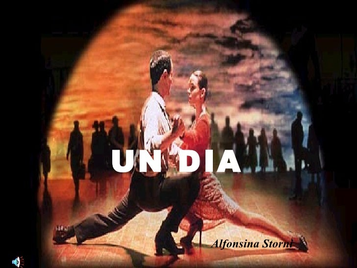 UN DIA Alfonsina Storni