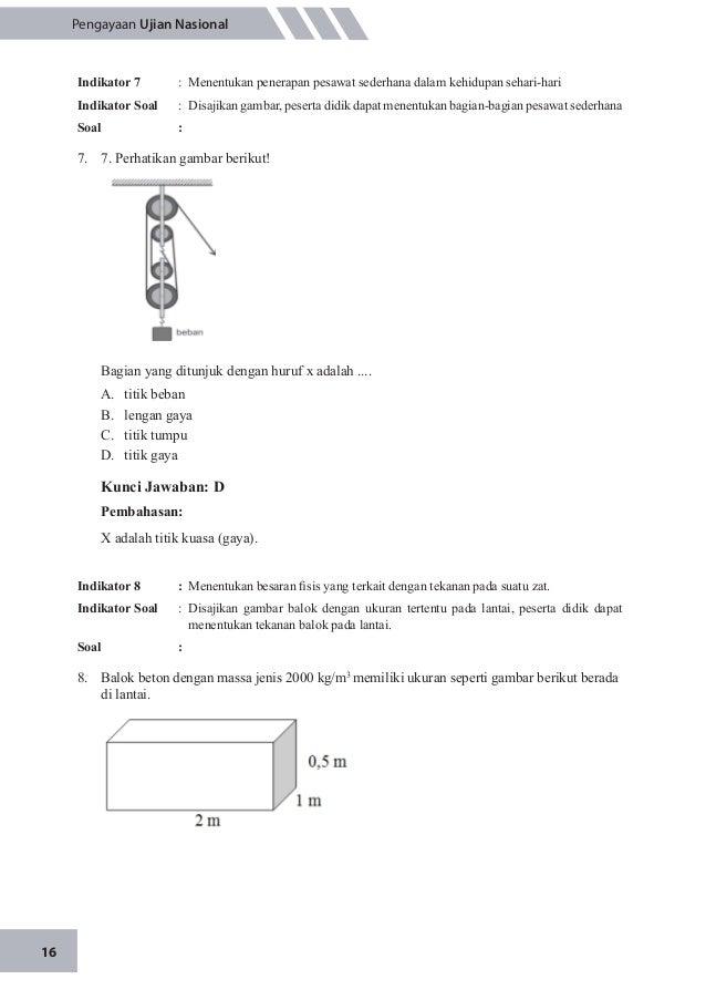 Kunci Jawaban Ujian Nasional 2015 Fisika Soal Pengayaan Un Fisika 2015 Soal Pengayaan Un Fisika