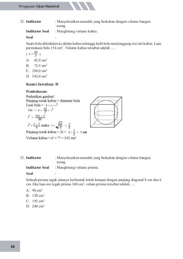 Un Matematika Smp 2015