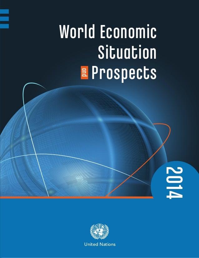 2014 World Economic Situation  Prospectsand United Nations