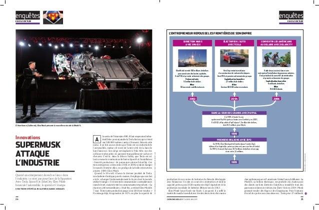 enquêtesen couverture 25l'usine nouvelle i n° 3428 i 18 JUIN 201524 Innovations SuperMusk attaque l'industrie Quand un ent...
