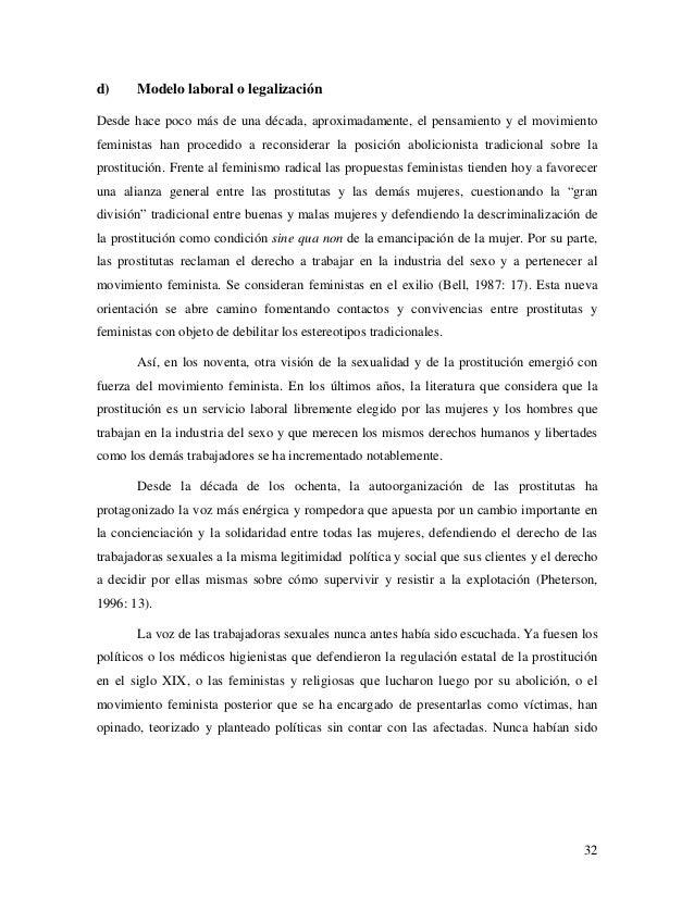 legalizacion prostitución prostitutas embarazadas barcelona