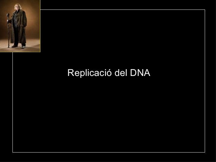Replicació  del DNA