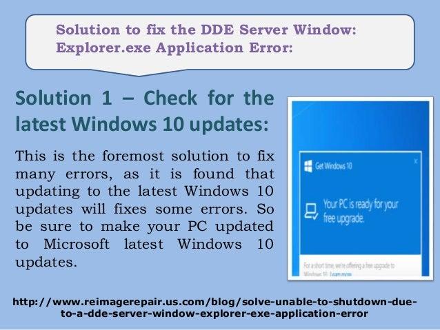 how to fix wisptis exe application error