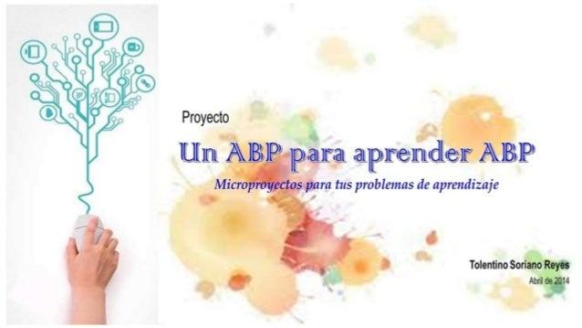 Un ABP para aprender ABP V2