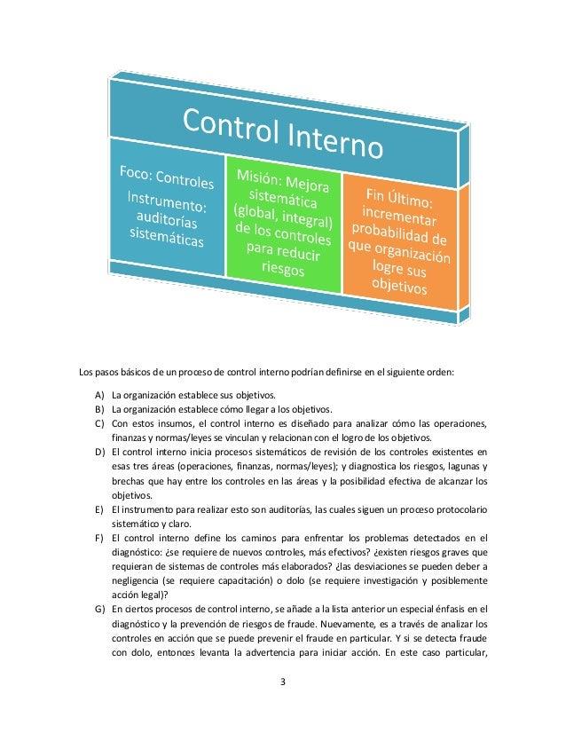 Una breve definición lógica de control interno Slide 3