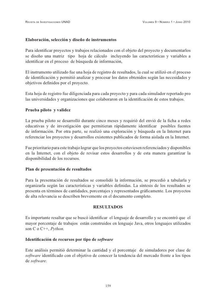 DEFINICIÓN, DESCRIPCIÓN Y ESTUDIO DE LOS SIMULADORES ... - photo#2