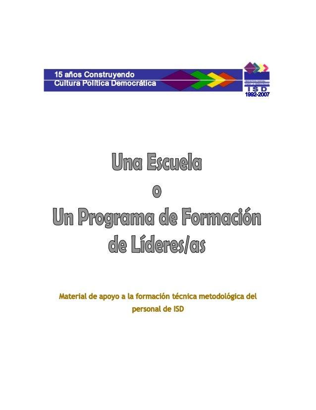 15añosConstruyendoCulturaPolíticaDemocrática                                                      19922007 Material...