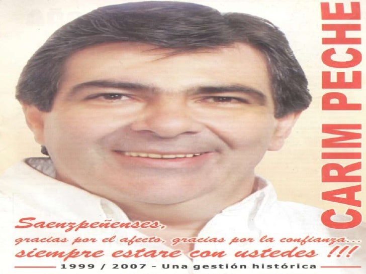 """Carim Peche """"Una Gestión Histórica 1999-2007"""""""