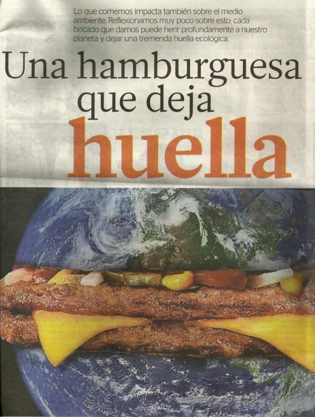 Una hamburguesa que deja huella