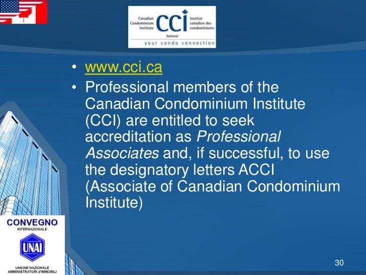 Unai rome italy international real estate conference 201205 for Cci montreal