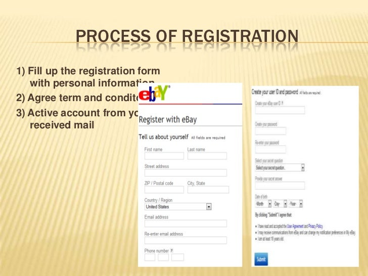PROCESS OF REGISTRATION1) Fill up the registration form   with personal information2) Agree term and conditon3) Active acc...