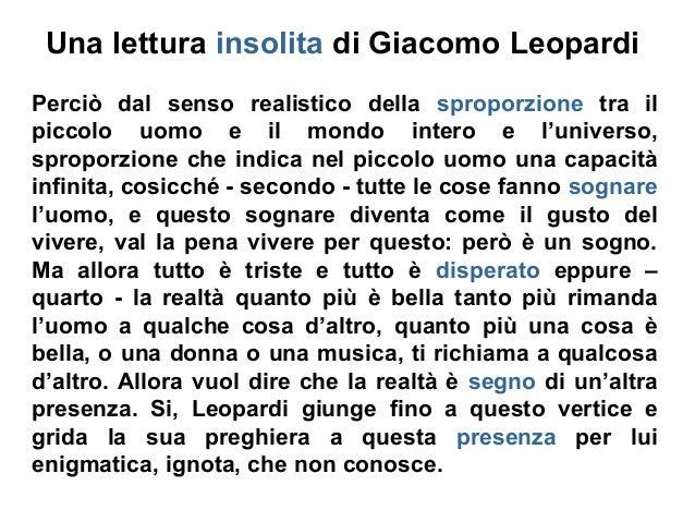 Leopardi E La Musica Una lettura insolita d...