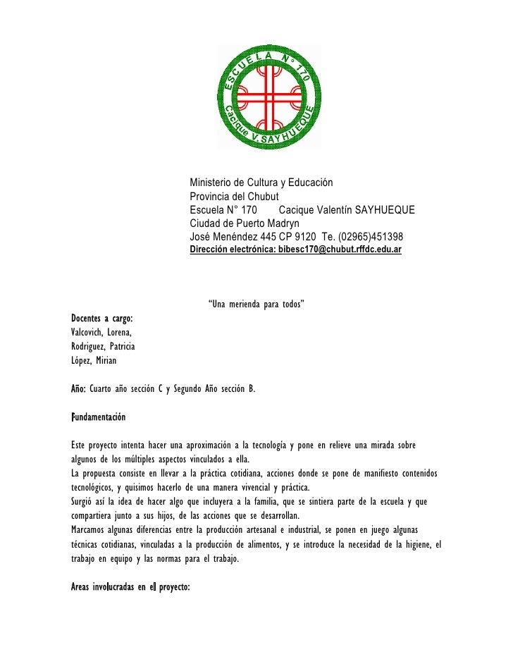 Ministerio de Cultura y Educación                                      Provincia del Chubut                               ...