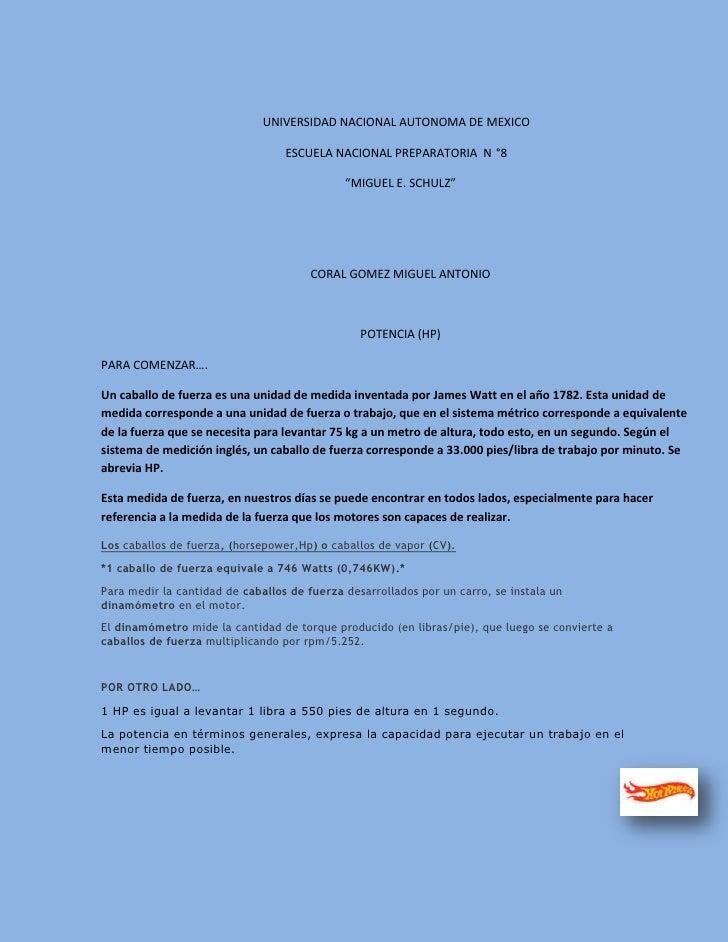 UNIVERSIDAD NACIONAL AUTONOMA DE MEXICO                                  ESCUELA NACIONAL PREPARATORIA N °8               ...