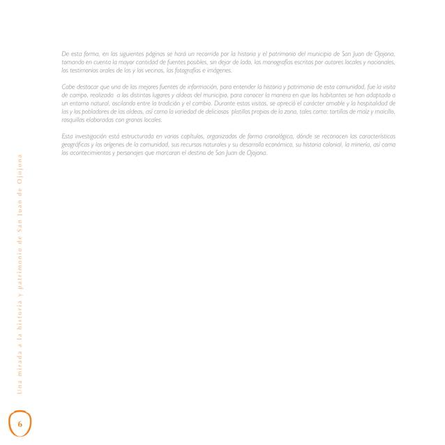 Capítulo VI: Técnicas Artesanales Tradicionales Una de las actividades por las que en la actualidad se destaca el municipi...