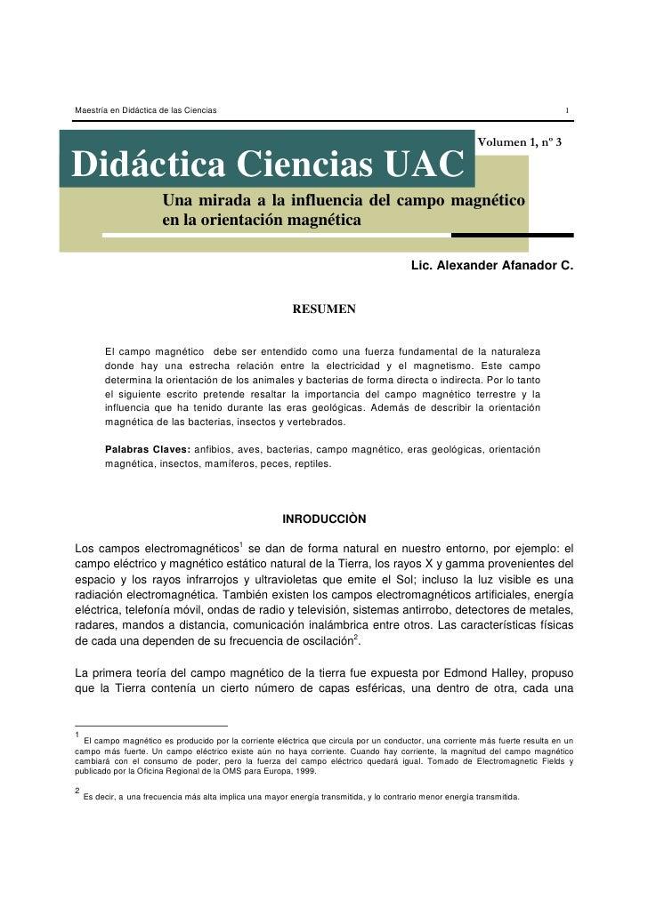Maestría en Didáctica de las Ciencias                                                                                     ...