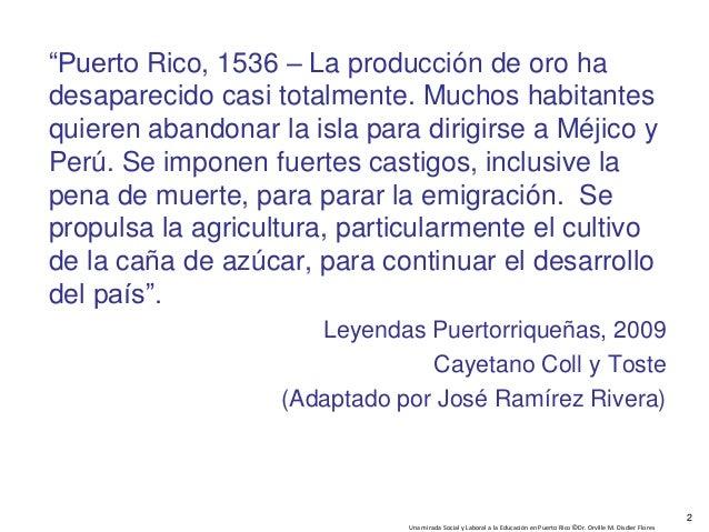 Una Mirada Social y Laboral a la Educacion en Puerto Rico Slide 2
