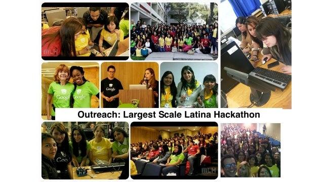 168 Outreach: Largest Scale Latina Hackathon