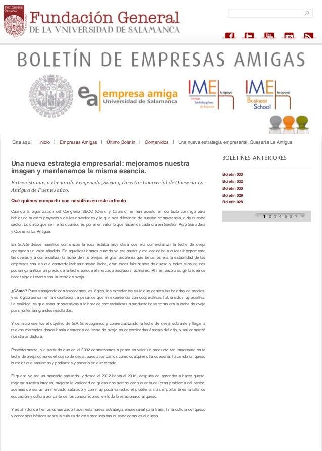 search... Está aquí: Inicio | Empresas Amigas | Último Boletín | Contenidos | Una nueva estrategia empresarial: Quesería L...