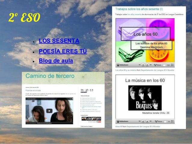 Un año en la nube. Memoria del curso 2012 2013 Slide 2