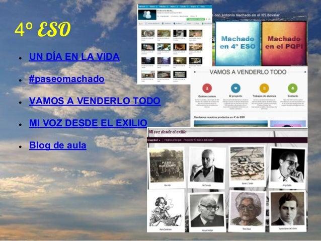 Un año en la nube. Memoria del curso 2012 2013 Slide 3