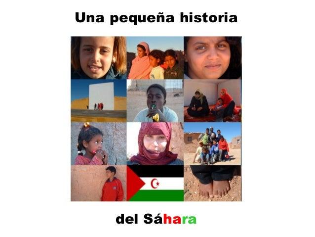 Una pequeña historia del Sáhara