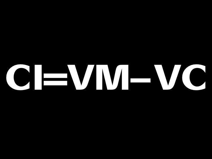 CI=VM–VC