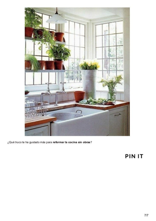 10 trucos para reformar tu cocina sin obras - Reformar cocina sin obras ...