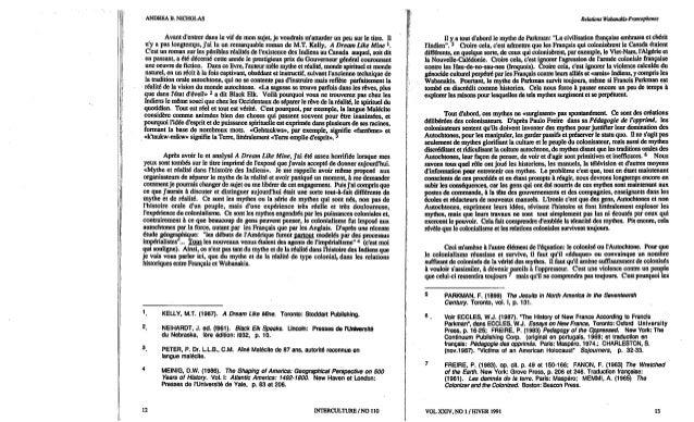 110-Un appel au dialogue entre Amérindiens et Blancs. R. Vachon, A. B. Nicholas et al. (document à télécharger en format P...