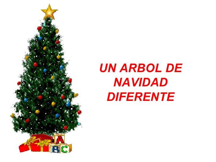 Un Arbol De Navidad Diferente