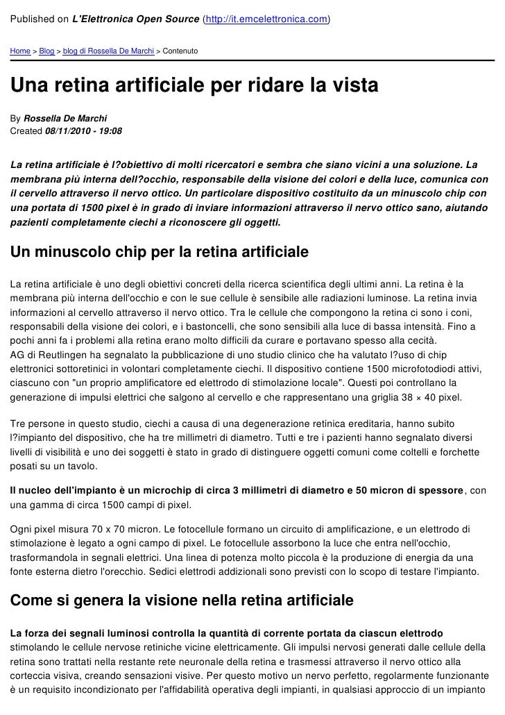 Published on LElettronica Open Source (http://it.emcelettronica.com)Home > Blog > blog di Rossella De Marchi > ContenutoUn...