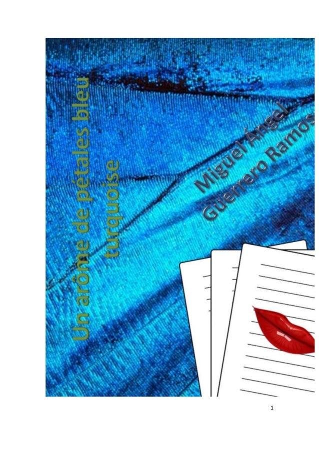 Un arôme de pétales bleu turquoise Slide 1